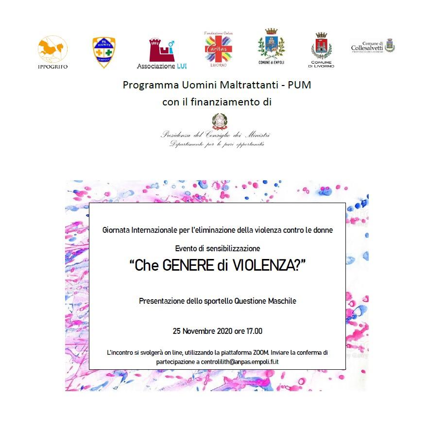 locandina evento 25.11.2020